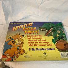 Load image into Gallery viewer, Scooby-Doo 6 Piece Mystery Puzzle Party