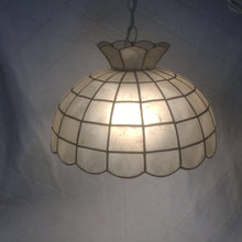 Load image into Gallery viewer, Mid Century Modern Capiz Shell swag light