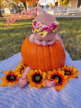 Load image into Gallery viewer, Vintage Fall Floral Headwraps