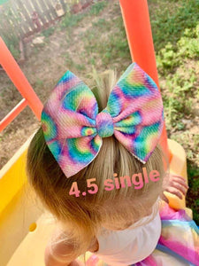 Spider web splatter Shylyn Bow -30% Halloween/Fall Discount (RTS)