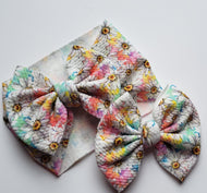 Bright Daisys Headwraps - 40% Spring/Summer Print Discount (RTS)