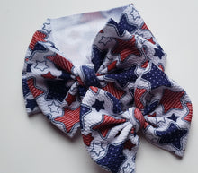 Load image into Gallery viewer, Star Spangled Shylyn Bow -40% Spring/Summer Clearout Discount (RTS)