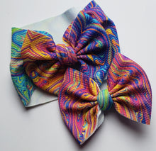Load image into Gallery viewer, Oil Spill Shylyn Bow -40% Spring/Summer Clearout Discount (RTS)
