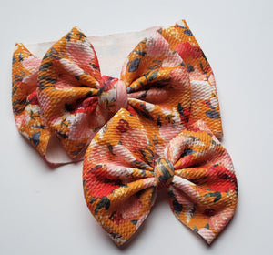 Mustard Floral Headwraps -30% Halloween Discount (RTS)