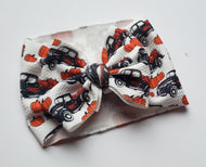 Pumpkin Trucks Shylyn Bow -30% Halloween/Fall Discount (RTS)