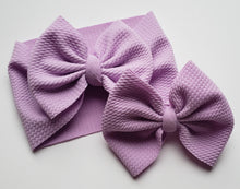 Load image into Gallery viewer, Solid Lilac Headwraps -20% Solids Discount (RTS)