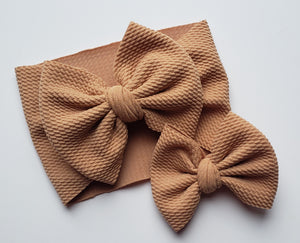Solid Camel Headwraps -20% Solids Discount (RTS)
