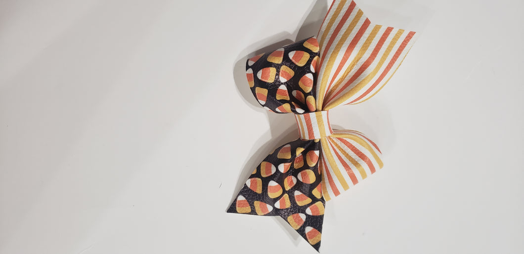 Candy Corn and Stripes Taytum- Glow in the Dark SALE