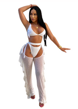 Load image into Gallery viewer, 3PC BIKINI WITH MESH PANT