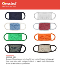 Load image into Gallery viewer, Kingsted Face Covers- Surprise Pack - 5 for $25 (Assorted Colors) 50/50 Blend