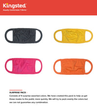 Load image into Gallery viewer, Kingsted Kids Face Covers - Surprise Pack - 4 for $20 (Assorted Colors)