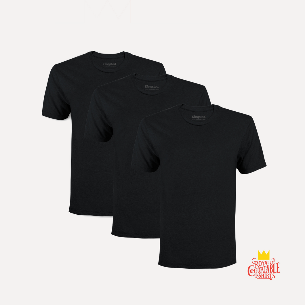 Black T-Shirt 3-Pack