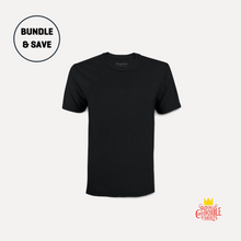 Load image into Gallery viewer, Black T-Shirt 3-Pack