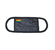 Load image into Gallery viewer, Kingsted Pride Rainbow Heart Face Cover (Oxford)
