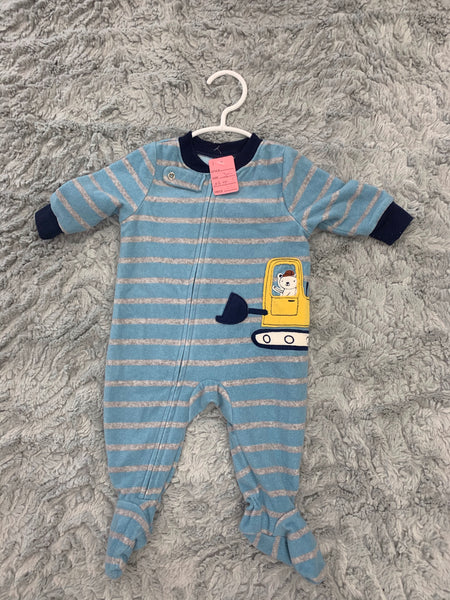 Infant Carter's Sleeper Size 3m