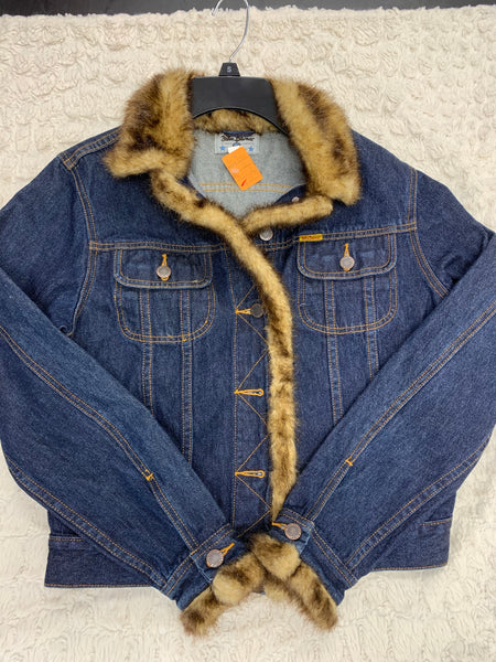 Ladies John Baner Jean Jacket Size 6