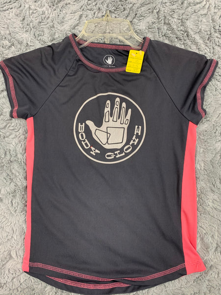 Girls Body Glove Active Tee Size 10