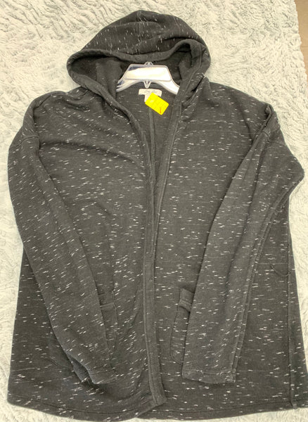 Ladies Lucky Brand Hooded Cardigan Size XL