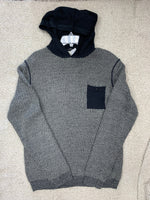 Men's Essential Hooded Sweater Size XL