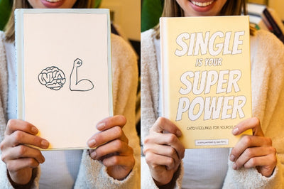 Best Selling Bundle (New Mindset Journal + Single Is Your Superpower) - The New Mindset Journal