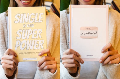 Unbothered + Single Is Your Superpower - The New Mindset Journal