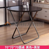 Folding Table Dining Table Home Small Apartment Round Table Square Portable Folding Simple Square Eating Table