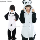 Kigurumi Unicorn Pajama Adult Animal Stitch Onesie Boys Girls Women Men  Couple 2019 Winter Pajama Suit Sleepwear Flannel Pijama