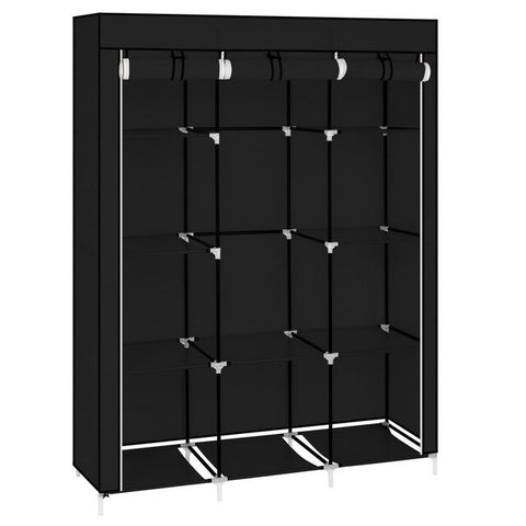 Portable Closet Organizer Wardrobe Storage Organizer With 10 Shelves Quick And Easy To Assemble Cabinet Bedroom Furniture