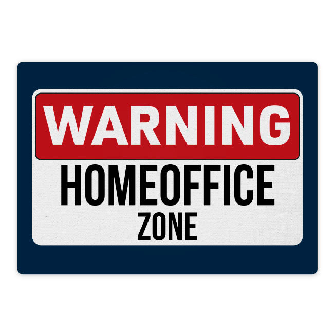 Mousepad: Homeoffice-Zone