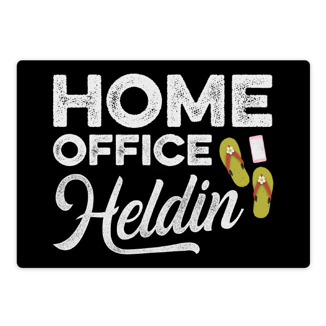 Mousepad: Homeoffice-Heldin