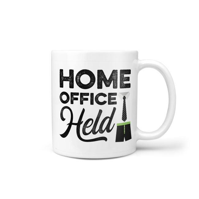 Tasse: Homeoffice-Held
