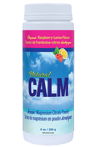 CALM Magnesium Citrate 8oz - Raspberry Lemon
