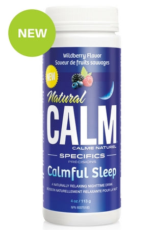 CALM Magnesium Calmful Sleep 4 oz- Wildberry
