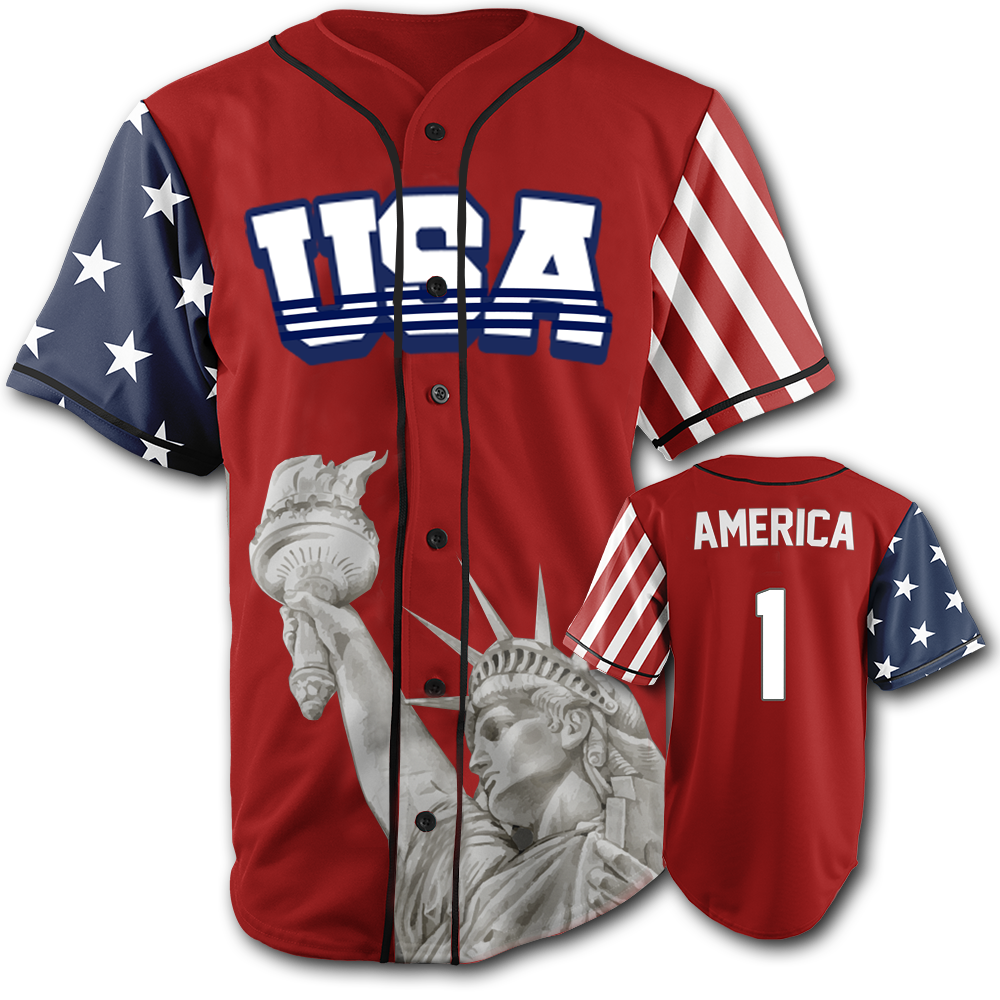 USA Liberty Jersey™️ - America #1 - Red (Small-5XL)