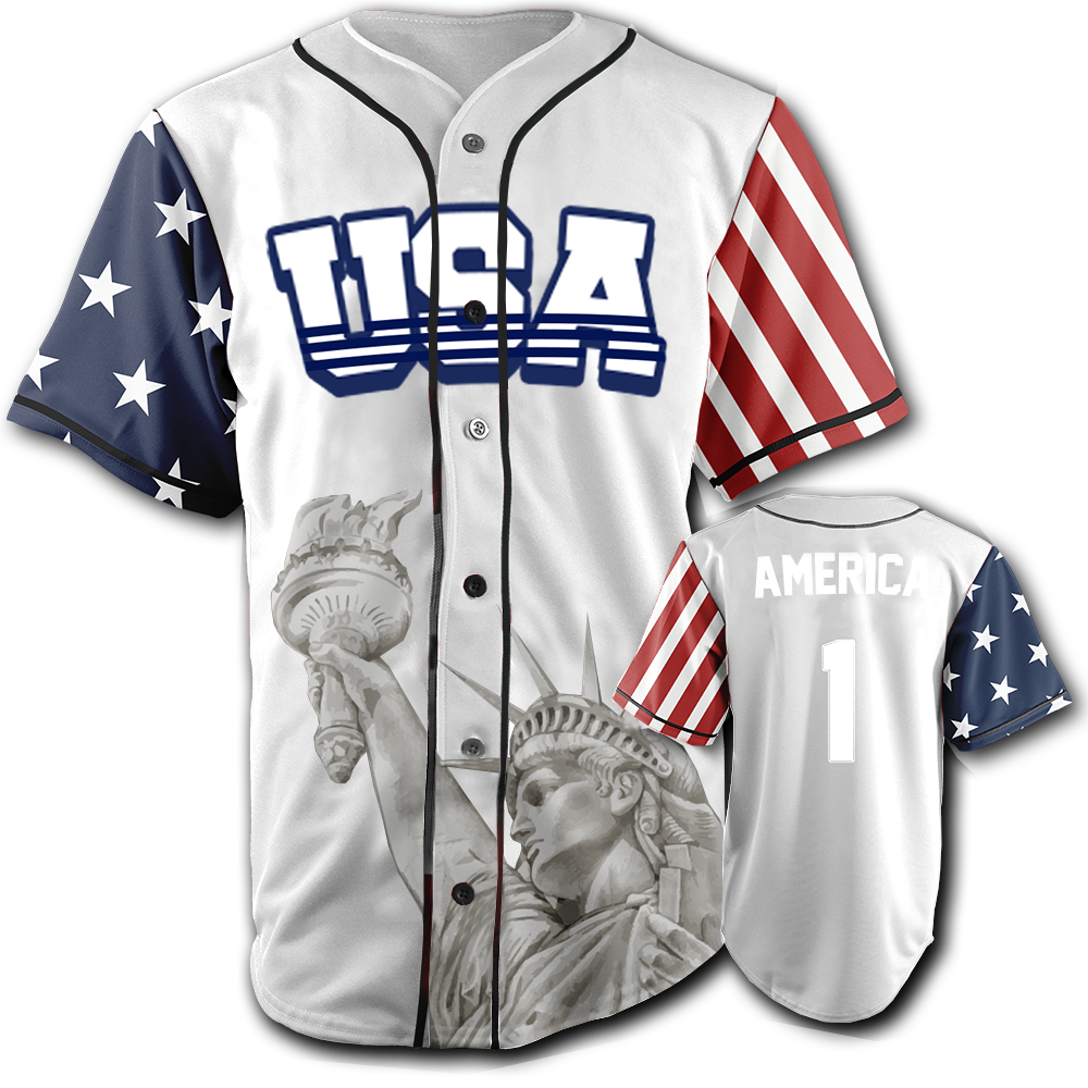 USA Liberty Jersey™️ - America #1 - White (Small-5XL)