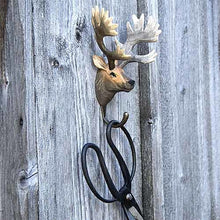 Load image into Gallery viewer, Hand Carved Wall Hook - Red Deer