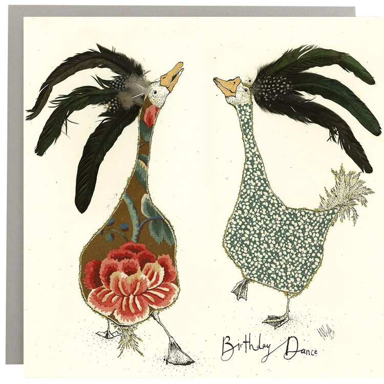 Anna Wright Card - Birthday Dance