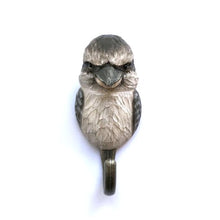 Load image into Gallery viewer, Hand Carved Wall Hook - Kookaburra