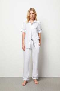 Lily Long Pyjama Set - Short Sleeve