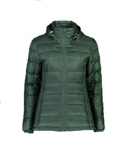 Load image into Gallery viewer, Packable Down Jacket - Forest Green