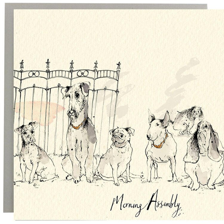 Anna Wright Card - Morning Assembly