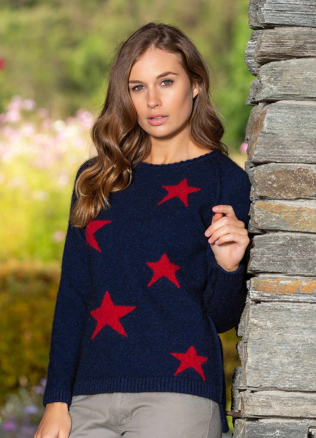 Wool/Possum Southern Cross Jumper