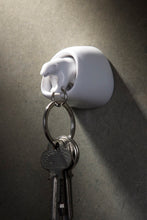 Load image into Gallery viewer, Polar Bear Key Ring