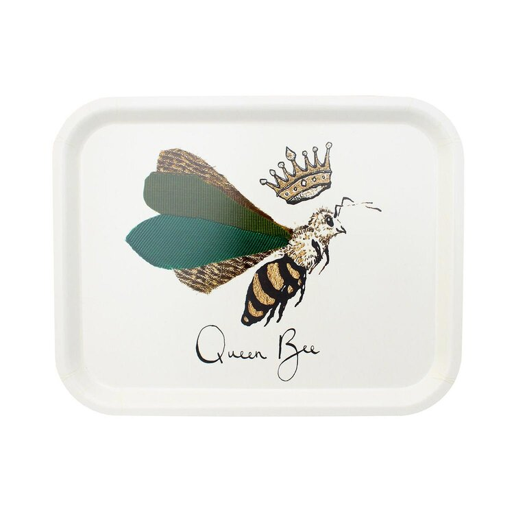 Anna Wright Tray - Queen Bee