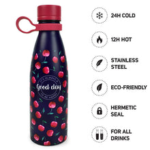 Load image into Gallery viewer, Vacuum Bottle 500ml - Cherry Bomb