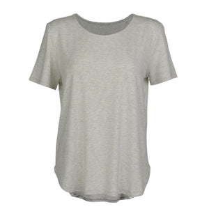 The Janis Tee - Grey Marle