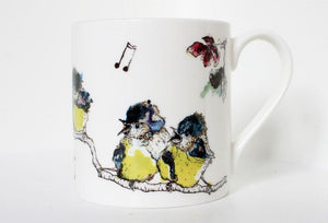 Anna Wright Fine Bone China Mug - Ooh baby Love