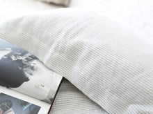 Load image into Gallery viewer, Pure French Linen Yarn Dyed Striped Doona Cover Set