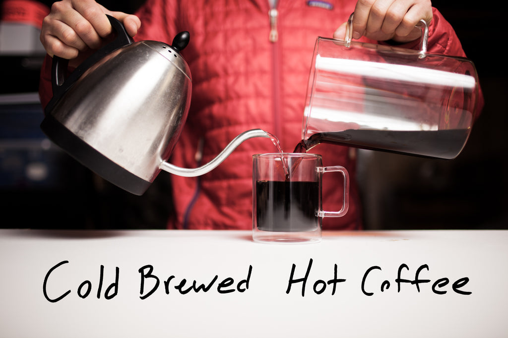 Heating Cold Brew