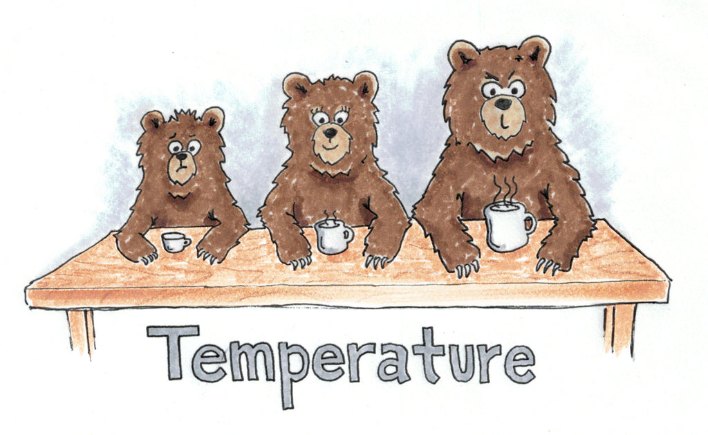 The three bears temperature title